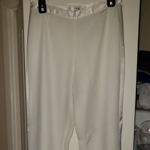 Cache winter white pant suit